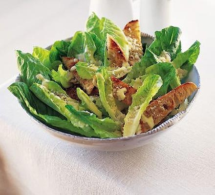 aesar salad recipe homemade caesar salad recipe with garlic and ...